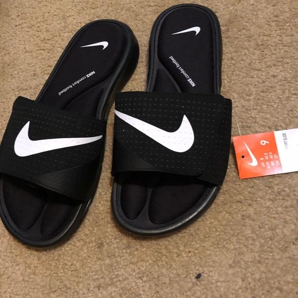 46b47cc7dc05 Nike Ultra comfort Slides Brand new no box Sz9